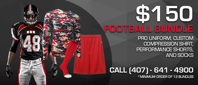 free custom sublimated compression shirt with each pro or sublimated uniform purchased