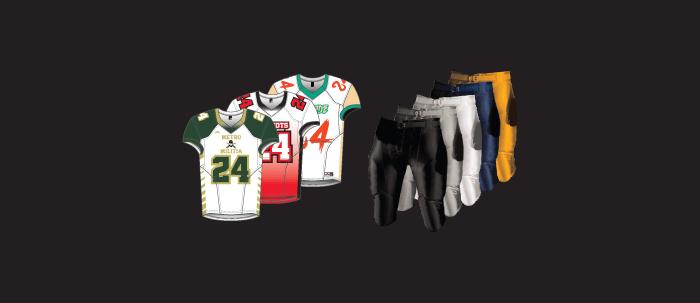 1e8caabffb3 Semi Pro Football Uniforms for Men and Kids Football Teams