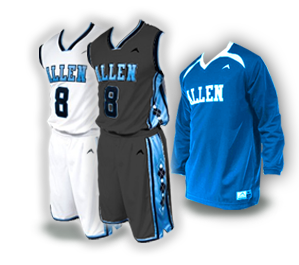 Home and Away Basketball Uniforms With Free Shooter Shirt