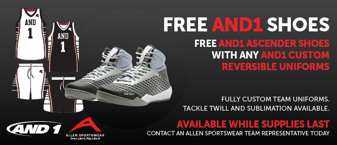 FREE AND1 ascender shoes