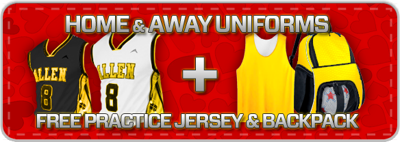 Free Practice Jerseys and Player Backpack at http://www.allensportswear.com/promos/basketball/