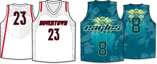 Sublimated Jersey Examples