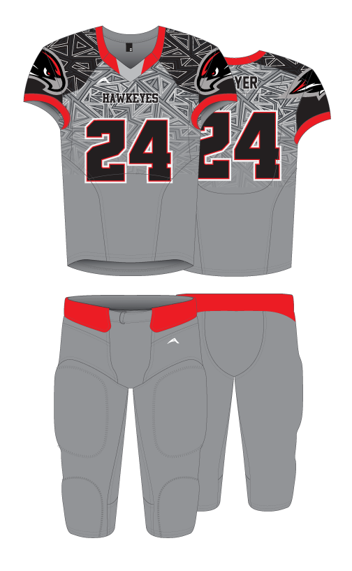 67e74dd7c1e Allen Sportswear - Adult and Youth Sublimated Football Uniforms