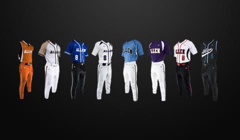 mizuno baseball uniform builder