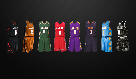 59c9dd42f Custom Basketball Uniforms and Jerseys for Men