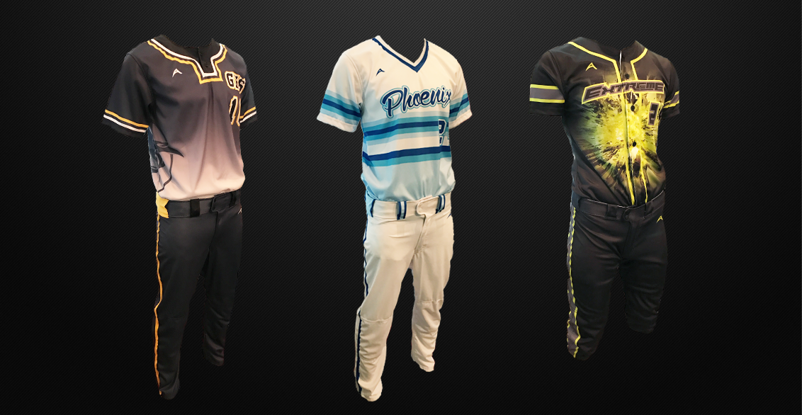 official photos 9ffb8 fcc16 Men's and Boys Baseball Uniforms with Custom Designs