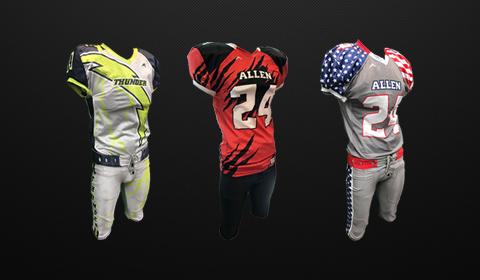 d7708b06 Custom Stock Football Uniforms for Men and Kids Football Teams