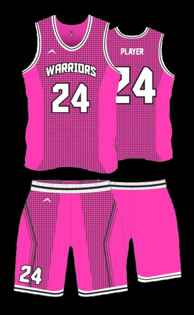 Basketball-Sublimation-Uniform-Warriors