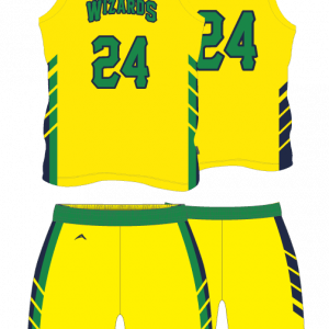 Image for Basketball Uniform Sublimated Wizards