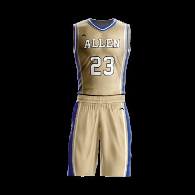 Custom basketball uniform PRO 207