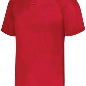 Image for ATTAIN WICKING TWO-BUTTON BASEBALL JERSEY