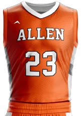 basketball jersey sublimated 501