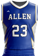 basketball jersey sublimated 504