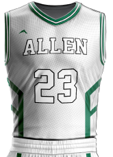 basketball jersey sublimated 505