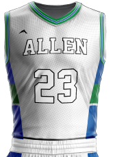 basketball jersey sublimated 507