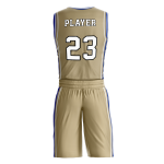 BASKETBALL UNIFORM PRO 207 BACK