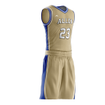 BASKETBALL UNIFORM PRO 207 SIDE
