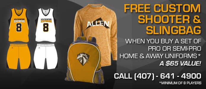 free custom shooter and sling-bag