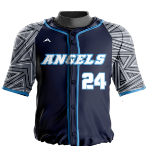Image for Baseball Jersey Sublimated Angels