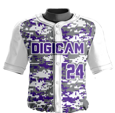 Baseball Jersey Sublimated Digicam