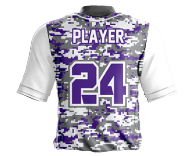 Baseball Jersey Sublimated Digicam Back