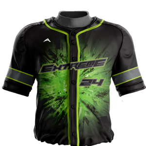 Image for Baseball Jersey Sublimated Explosion