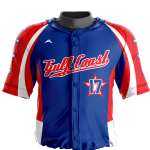 Baseball Jersey Sublimated Gulf
