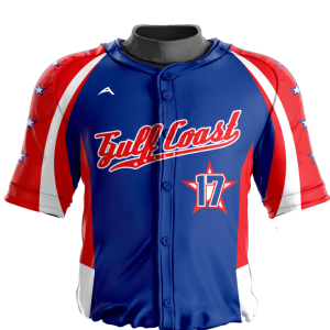 Image for Baseball Jersey Sublimated Gulf
