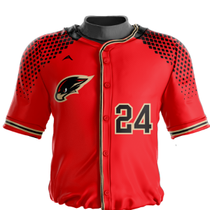 Image for Baseball Jersey Sublimated Hawks