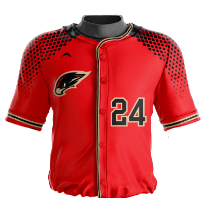 Baseball Jersey Sublimated Hawks