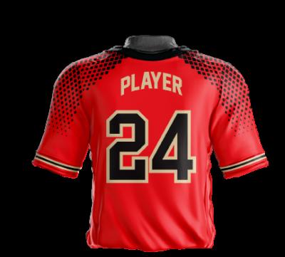 Baseball Jersey Sublimated Hawks Back
