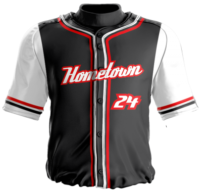 Baseball Jersey Sublimated Hometown