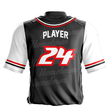 Baseball Jersey Sublimated Hometown Back