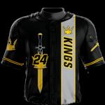 Baseball Jersey Sublimated Kings