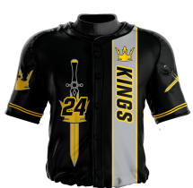 Baseball Jersey Sublimated Kings