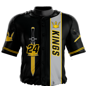 Image for Baseball Jersey Sublimated Kings