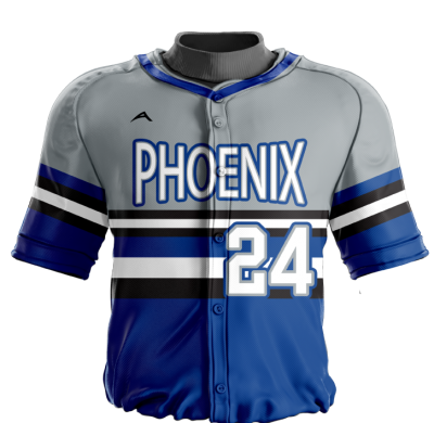 Baseball Jersey Sublimated Phoenix