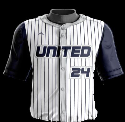 Baseball Jersey Sublimated United