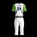Baseball Uniform Sublimated 500 Back