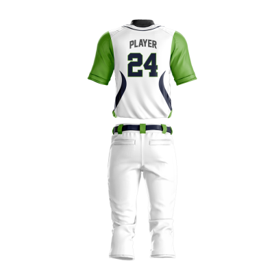 Baseball Uniform Sublimated 500 Back