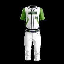 Baseball Uniform Sublimated 500 Front