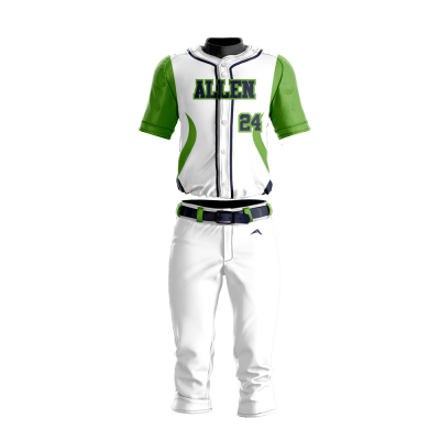 Baseball Uniform Sublimated 500 Front