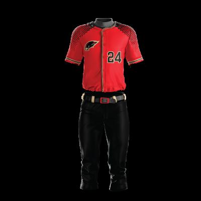 Baseball Uniform Sublimated Hawk