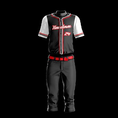 Baseball Uniform Sublimated Hometown