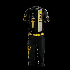 Image for Baseball Uniform Sublimated Kings