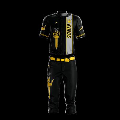 Baseball Uniform Sublimated Kings