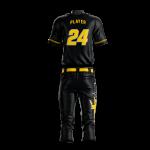 Baseball Uniform Sublimated Kings Back