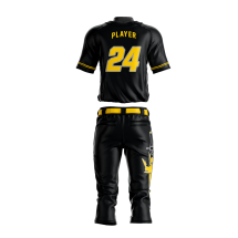 Baseball Uniform Sublimated Kings Back