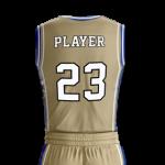 Basketball Jersey Pro 207 Back