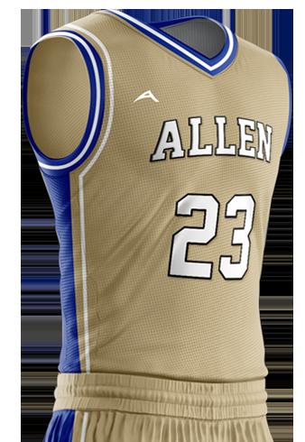 Basketball Jersey Pro 207 Side
